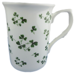 Shamrock Mugs Set of Three