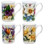 Spring Mugs Set of Four