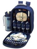 Aegean Picnic Backpack for Four