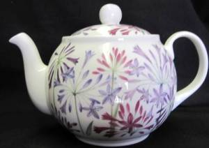 Agapanthus Six Cup Teapot