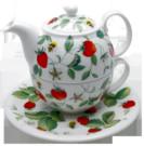 Alpine Strawberry Tea for One