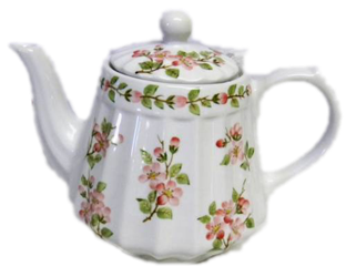 Apple Blossom Teapot
