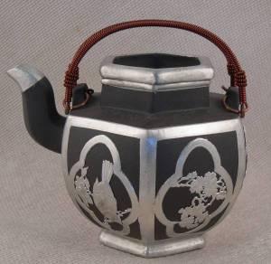 Bird's Paradise Yixing Teapot