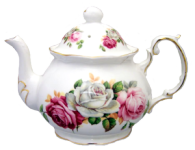 Summer Bloom Four Cup Teapot