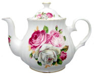 Summer Bloom Six Cup Teapot