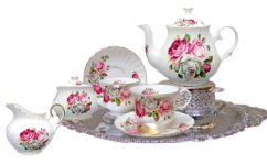 Six Cup Tea For Two Set