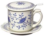 Blue in Bloom Infuser Mug