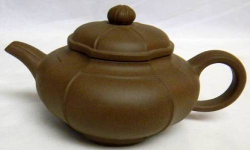 Brown Yixing Teapot