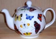 Butterfly Garden Six Cup Teapot