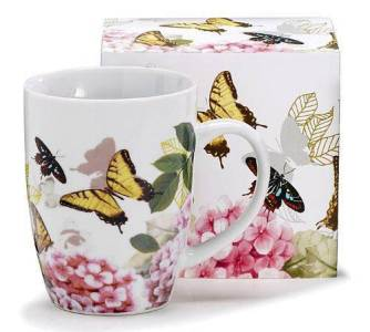 Yellow Butterfly Mug