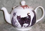 Cats Galore Six Cup Teapot