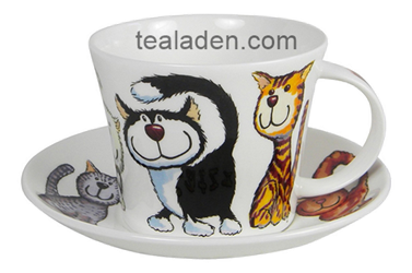 Catz Breakfast Cup and Saucer