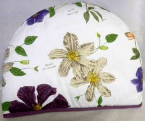 Clematis Tea Cozy