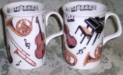 Concert Mugs- Set of Four