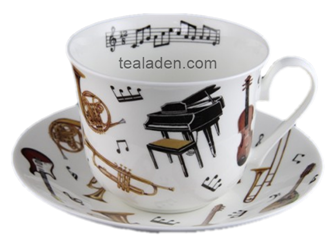 Concert Breakfast Cup and Saucer