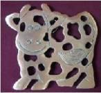 Cow Trivet