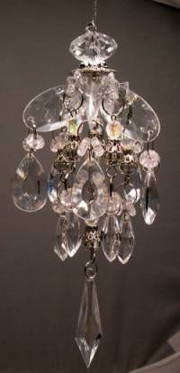 Crystal Look Chandelier