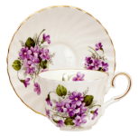 Two Violets Cup Sets