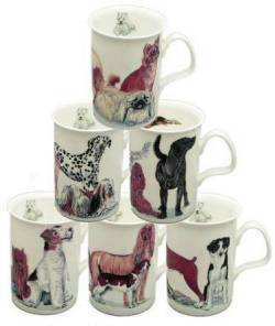 Six Dogs Galore Mugs