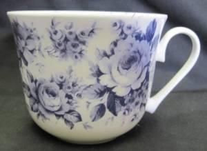 Jumbo English Blue Mug