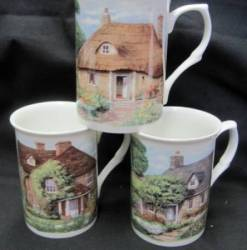 Three Cottages Mugs