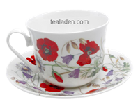 English Meadow Breakfast Cup and Saucer