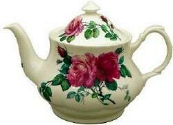 English Rose Six Cup Teapot