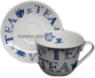 English Tea Breakfast Cup and Saucer