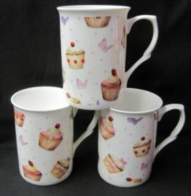 Fairy Cake Chintz Mugs