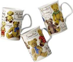 Favorite Teddy Mugs- Set of Three