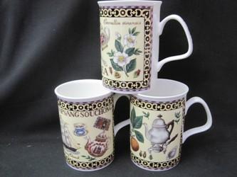 Three Fine Tea Mugs
