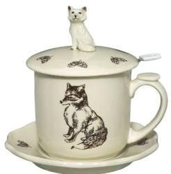 Fox Infuser Mug