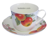 Fruit Tree Breakfast Cup and Saucer