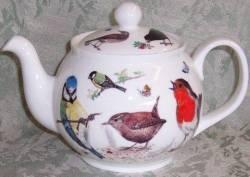 Garden Birds Six Cup Teapot