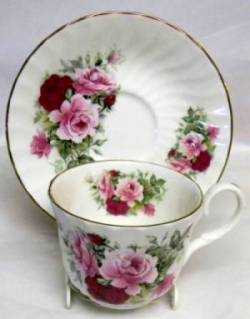 Summertime Rose Cup Set