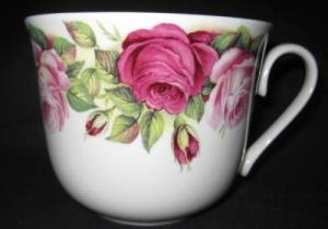 Jumbo Garden Rose Mug