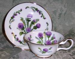 Glamis Thistle- Set of Two