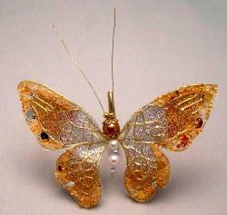Gold Jewel Butterfly