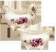 Elizabeth Grey Violets Creamer Set