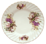 Two Honeysuckle Rose Plates