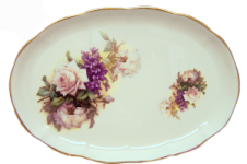 Honeysuckle Rose Serving Tray