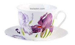 Iris Breakfast Cup and Saucer