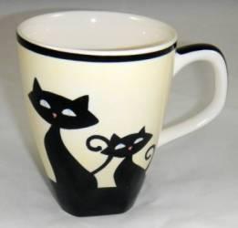 Ivory Cat Mug