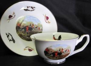 Hunt Cup and Saucer