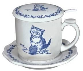 Kitten Infuser Mug