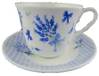Lavender Bouquet Breakfast Cup