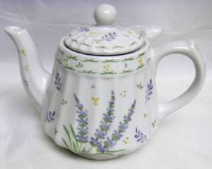 Lavender Teapot