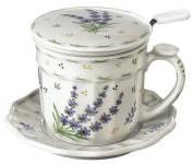 Lavender Infuser Mug