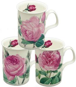Three Les Roses Mugs