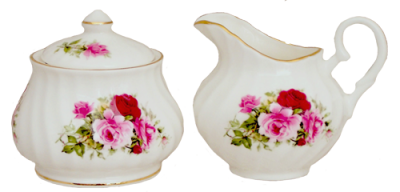 Summertime Rose Lidded Set